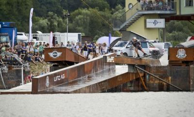 Red Bull Wake of Steel Linz 2014.